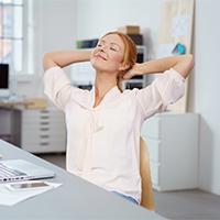 Arbeitsplatz mit Tücken: Gesund im Büro